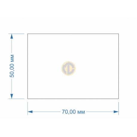Магнит прямоугольный 50х70мм