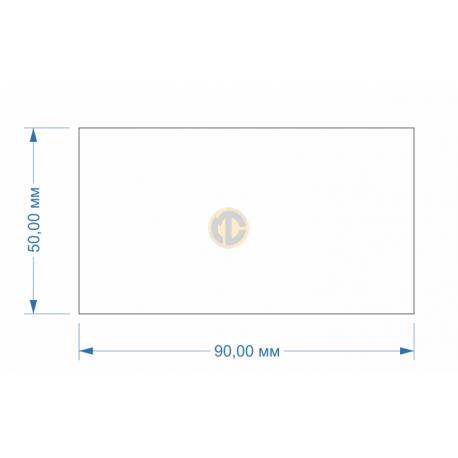 Магнит 50х90мм прямоугольный